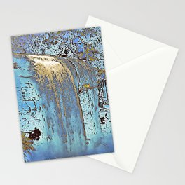 "series waterfall ""Cachoeira Grande"" III Stationery Cards"