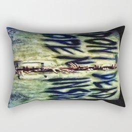 Walking Dead Dont Open Rectangular Pillow