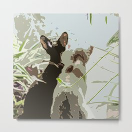 Couple of cats Metal Print