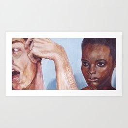 Fictional Still #7 Art Print