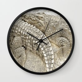 Crocodiles Wall Clock