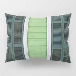 Green Creole Cottage Pillow Sham