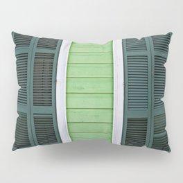 Green Creole Cottage Pillow Sham