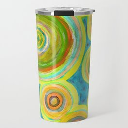 Circular Sky Lights Travel Mug
