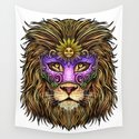 Mardi Gras   Pride Lion With Cute Mask by anziehend