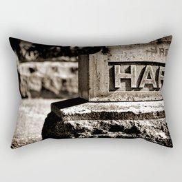 Rest Hart BW Rectangular Pillow