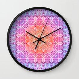 Sunrise Pattern Wall Clock