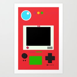 Pokedex Art Print