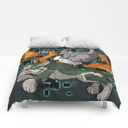 Invader Midna Comforters