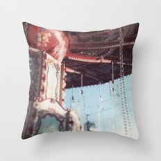 The State Fair Swing (An Instagram Series) Throw Pillow