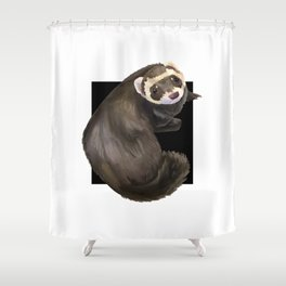 Ferret Shower Curtain