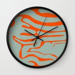 Organic Shapes 2.0 Wall Clock