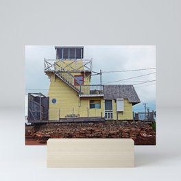 Lighthouse Cafe Mini Art Print
