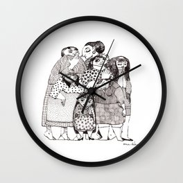 My funny Family Wall Clock