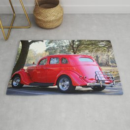Red Hot Rod Rug