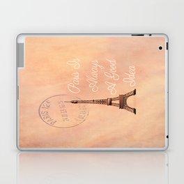 Vintage Paris is Always a Good Idea  Laptop & iPad Skin