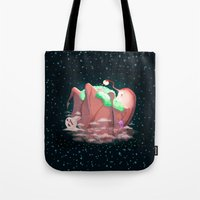 mother Tote Bags featuring Mother by Seez