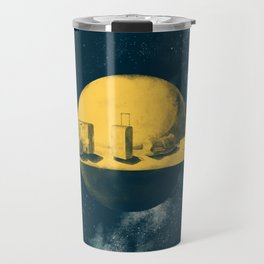 About space travels and living on Mars Travel Mug