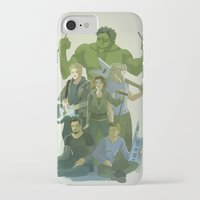 band iPhone & iPod Cases featuring Band by cycloalkane