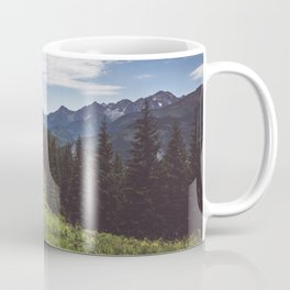 Greetings from the trail - Landscape and Nature Photography Coffee Mug