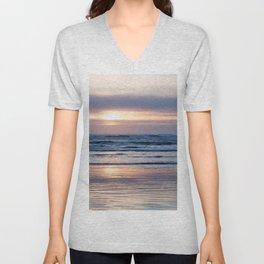 Beach Glow Unisex V-Neck