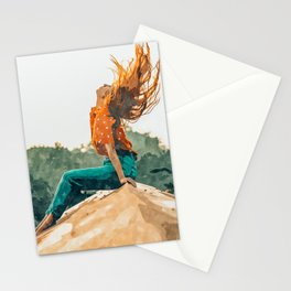 Live Free #painting Stationery Cards