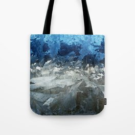 Icy Window Tote Bag