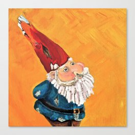 Abstract Study of Gnome Canvas Print