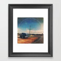 Roadside Classic - America As Vintage Album Art Framed Art Print