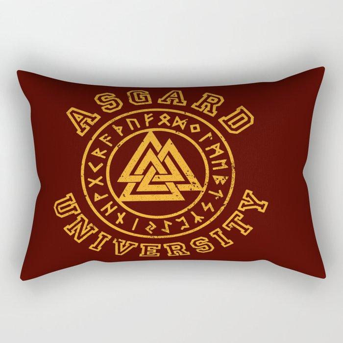 Asgard University Rectangular Pillow