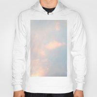 edinburgh Hoodies featuring edinburgh sky by Cassandra Tavukciyan