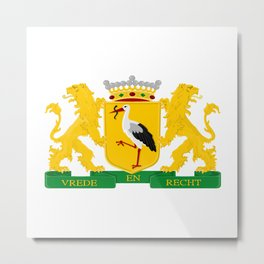 Coat of arms of The Hague Metal Print