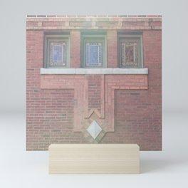 Cafe Brauer Mini Art Print