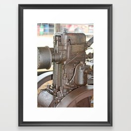 Steam Engine - Winchcombe Carson Ltd Brisbane Framed Art Print