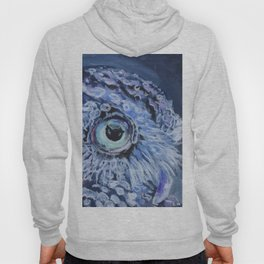 Owl At Twilight Hoody