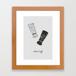 Shake It Off, Food and Drink Framed Art Print