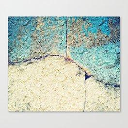 Cracked Stone Canvas Print