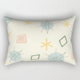 Atomic Age Planet Art Rectangular Pillow