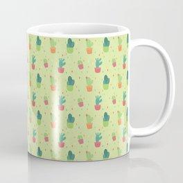 Cactus Party Pattern Coffee Mug