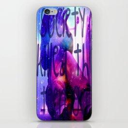society iPhone Skin