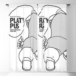 Platypus, Wildlife of Australia Blackout Curtain