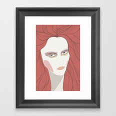 And Then I Looked At You Framed Art Print
