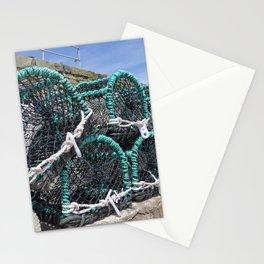 Lobster pots Stationery Cards
