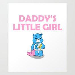 Daddy's Little Girl Brat DDLG Ageplay Art Print