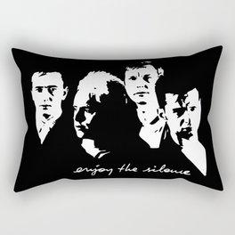 Enjoy The Silence Rectangular Pillow