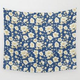 Design of vintage floral pattern. Wall Tapestry