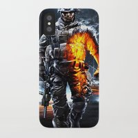 battlefield iPhone & iPod Cases featuring Battlefield 3 by Angelblack
