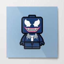 Venom Chibi Metal Print