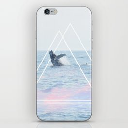 Whale of a Time iPhone Skin