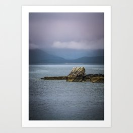 Elgol Bay Isle of Skye Scotland Art Print